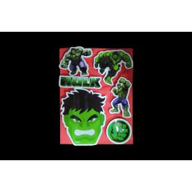 Stickers Torta  Hulk
