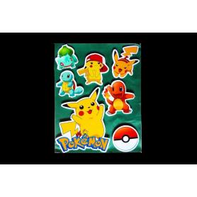 Stickers Torta Pokemon