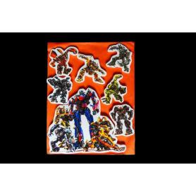 Stickers Torta Transformers