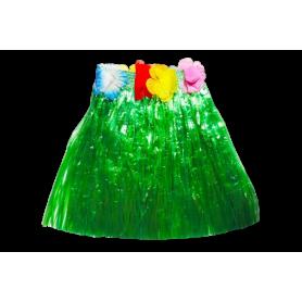 Falda Corta Hawaiana Colores Surtidos