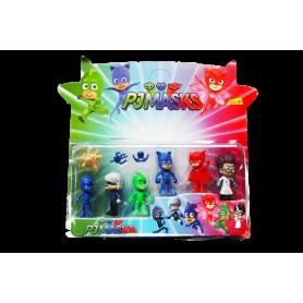 Colección Muñecos Héroes en Pijama Paquete x6