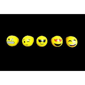 Anillo Luminoso Emoticón Paquete x5