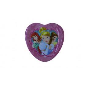 Bandeja Sempertex Corazón Princesas Paquete x4