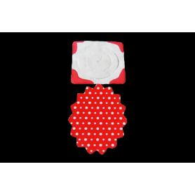 Festón Polka Rojo