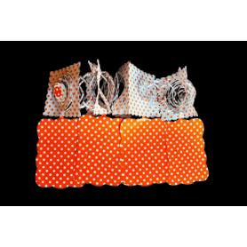 Festón Polka Naranja