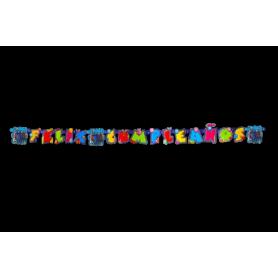 Letrero Feliz Cumpleaños Descendientes