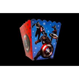 Crispetera Capitán América Paquete x12
