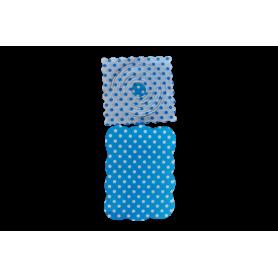 Festón Polka Azul