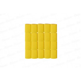 Cortina Crepe Amarilla