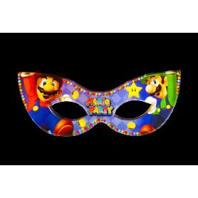 Antifaz Pequeño Mario Party Paquete x12