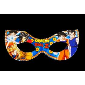 Antifaz Pequeño Dragon Ball Z Paquete x12