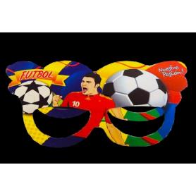 Antifaz Grande Fútbol Paquete x12