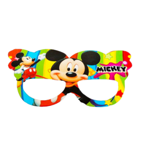 Antifaz Grande Mickey Mouse Paquete x12