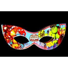 Antifaz Pequeño SuperHéroes Paquete x12
