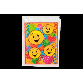 Bolsa Carita Feliz  Paquete x12 Surtifiestas