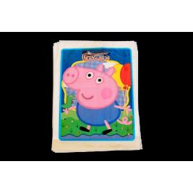 Bolsa Peppa Pig George Paquete x12 Surtifiestas
