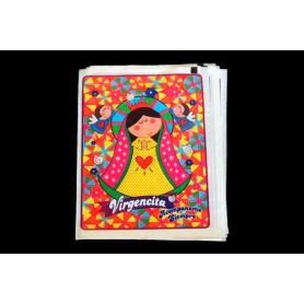Bolsa Virgen de Guadalupe Paquete x12
