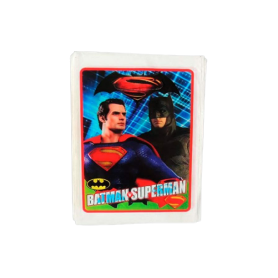 Bolsa Batman y Superman Paquete x12