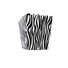 Crispetera Animal Print Negra Paquete x12