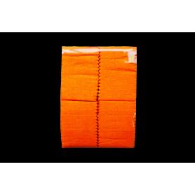 Cortina Crepe Naranja