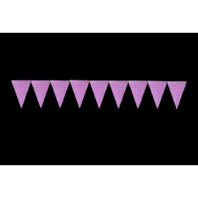 Banderín Polka Rosado