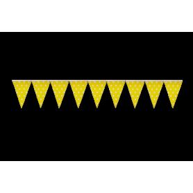 Banderín Polka Amarillo