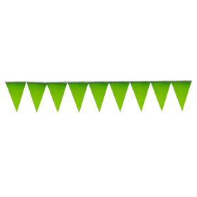 Banderín Fondo Entero Verde Manzana