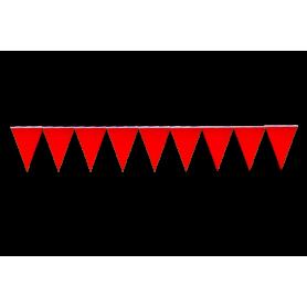 Banderín Fondo Entero Rojo
