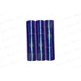 Serpentina Tornasol Azul x3