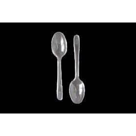 Cucharas Transparente Paquete x10