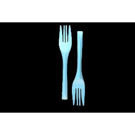 Tenedores Azul Celeste Paquete x10