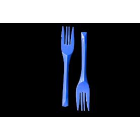 Tenedores Azul Rey Paquete x10