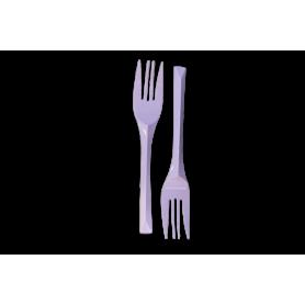 Tenedores Lila Paquete x10