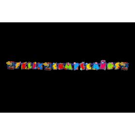 Letrero Feliz Cumpleaños Thomas Y Sus Amigos