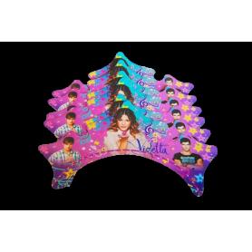 Corona Violetta Paquete x12