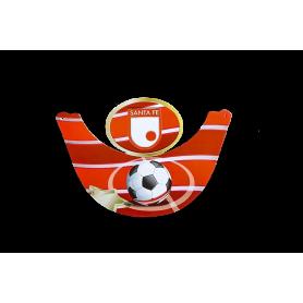 Visera Independiente Santa Fe Paquete x12