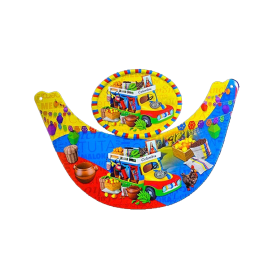 Visera Chiva Colombia Paquete x12