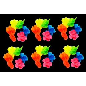 Pulsera Hawaiana Paquete x6