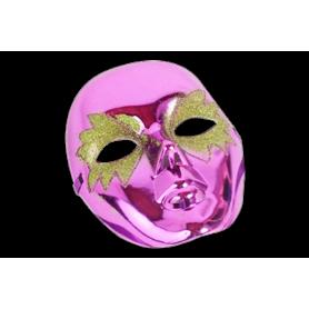 Máscara Brillante con Escarcha