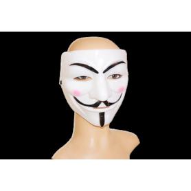Máscara Blanca Anonymous