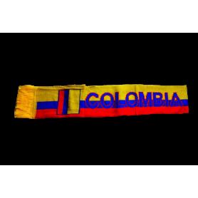 Bufanda Tejida Selección Colombia