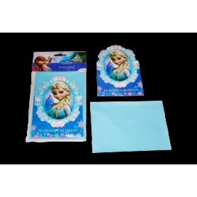 Invitación Sobre Sempertex Frozen Paquete X8