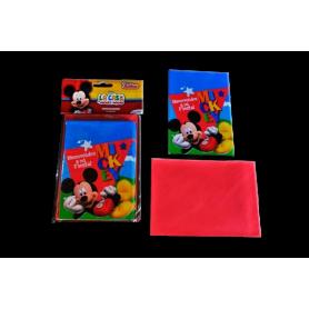 Invitación Sobre Sempertex Mickey Paquete x8