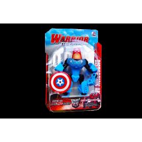 Muñeco Capitán América Transformers