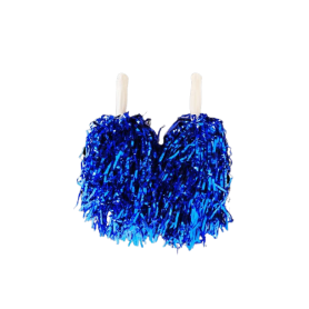 Pompon Porrista Azul Real
