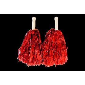 Pompon Porrista Rojo
