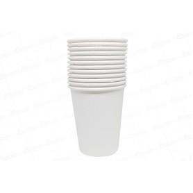 Vaso Blanco CyM Paquete x 12