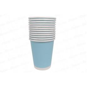 Vaso Azul Celeste CyM Paquete x 12
