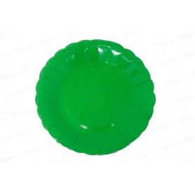 Plato Verde Selva CyM Paquete x 12