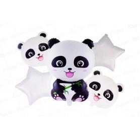 Globo Ramillete Panda
